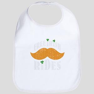 Free irish mustache rides Bib