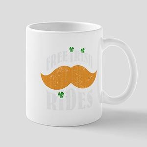 Free irish mustache rides Mug