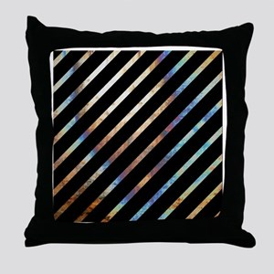 Totally Cool Unique Striped Throw Pillow