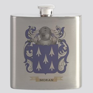 Moran Coat of Arms - Family Crest Flask