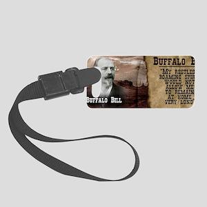 Buffalo Bill Historical Small Luggage Tag