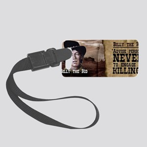 Billy The Kid Historical Small Luggage Tag