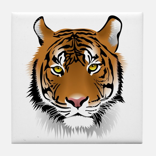 Wonderful Tiger Tile Coaster
