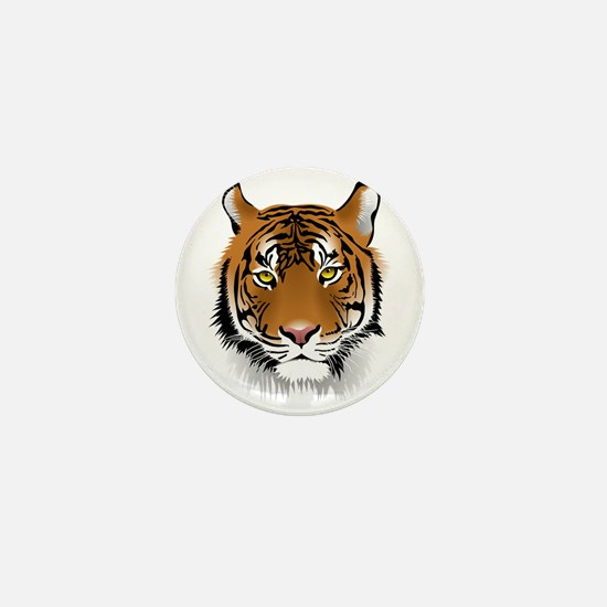 Wonderful Tiger Mini Button