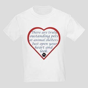 Open Your Heart Kids Light T-Shirt