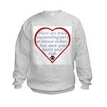 Open Your Heart Kids Sweatshirt