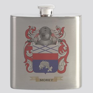 Morey Coat of Arms - Family Crest Flask