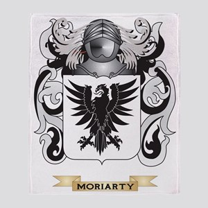 Moriarty Coat of Arms - Family Crest Throw Blanket