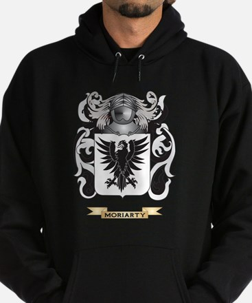 Moriarty Coat of Arms - Family Crest Hoodie (dark)