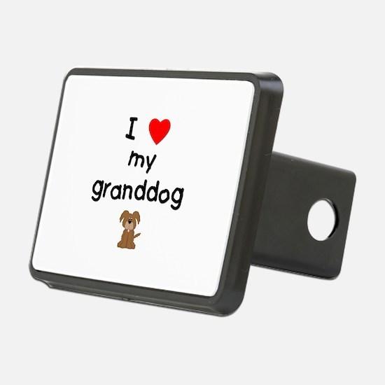 I love my granddog (3) Hitch Cover