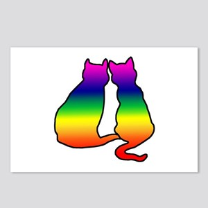 Cats in Love Postcards (Package of 8)