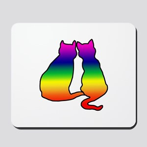 Cats in Love Mousepad
