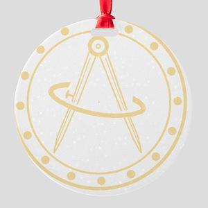 Sextant Logo Round Ornament