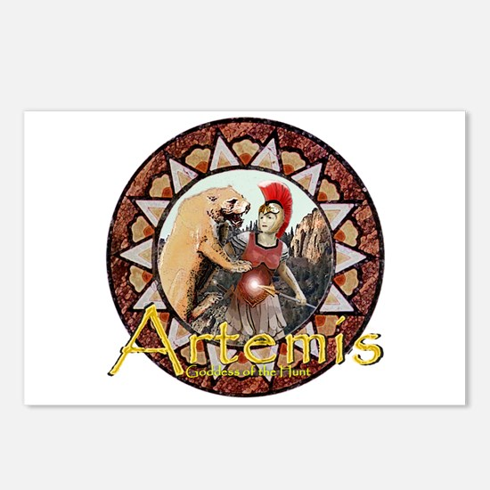 Artemis Postcards (Package of 8)