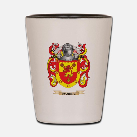 Morris-(England) Coat of Arms - Family  Shot Glass