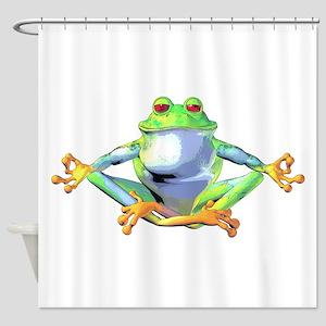 frogzen Shower Curtain