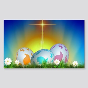 Easter Design Sticker (Rectangle)