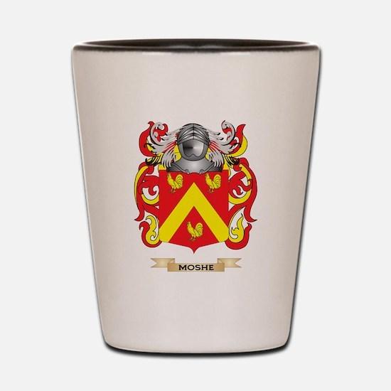 Moshe Coat of Arms - Family Crest Shot Glass