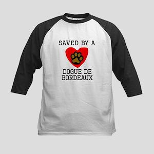 Saved By A Dogue de Bordeaux Baseball Jersey
