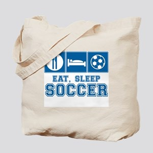 Eat, Sleep, Soccer Tote Bag