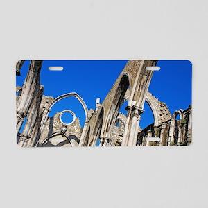 Carmo Church ruins Aluminum License Plate