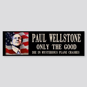 wellstone-flag-LTT Bumper Sticker
