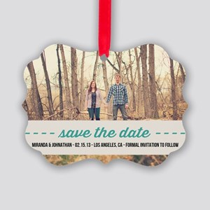 save the date ornaments cafepress