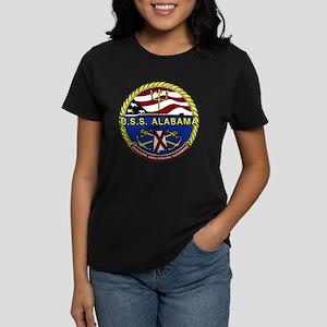 USS Alabama SSBN 731 Women's Dark T-Shirt
