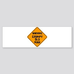 THe Grumpy Bumper Sticker
