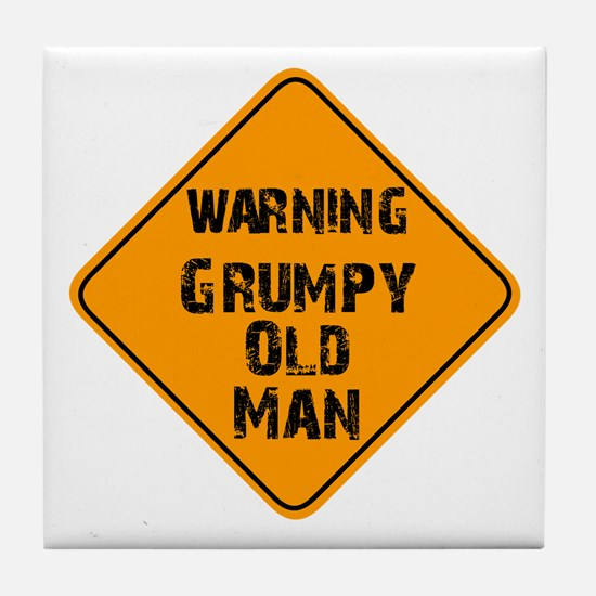 THe Grumpy Tile Coaster