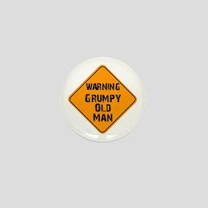 THe Grumpy Mini Button