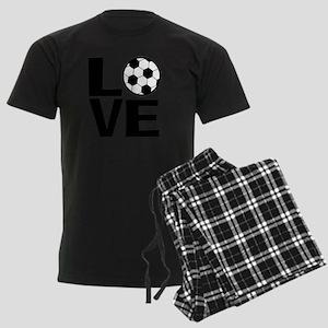 Love Soccer Men's Dark Pajamas