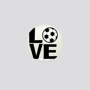 Love Soccer Mini Button