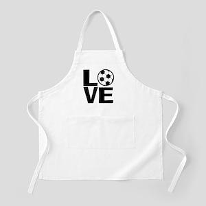Love Soccer Apron