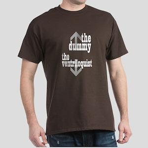 Dummy/Ventriloquist Mature Humor Dark T-Shirt