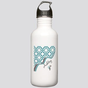 Custom Name Pattern Stainless Water Bottle 1.0L