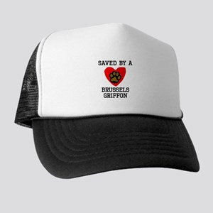 Saved By A Brussels Griffon Trucker Hat