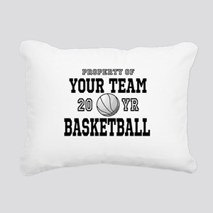 Personalized Your Team Text Basketball Rectangular