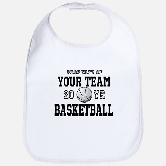 Personalized Your Team Text Basketball Bib