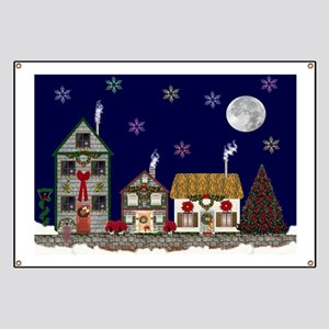 The Village at Christmas Banner
