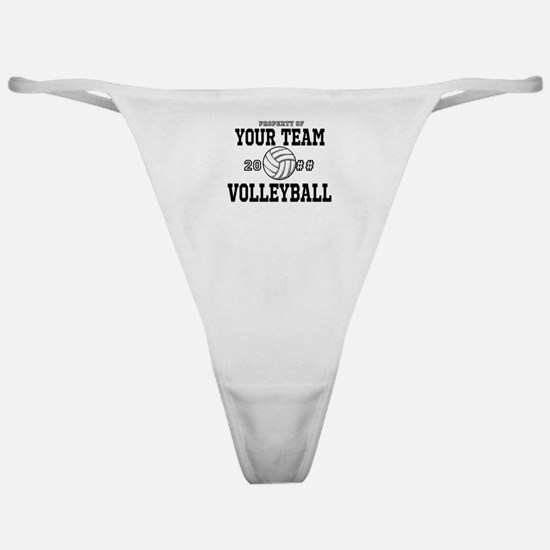 Personalized Property of Your Team Volleyball Clas