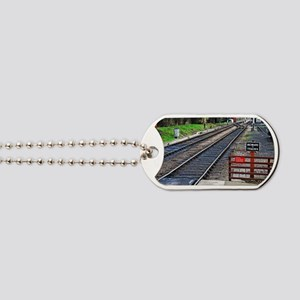 Beware of trains Dog Tags