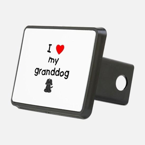 I love my granddog (4) Hitch Cover