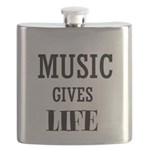 MUSIC GIVES LIFE Flask