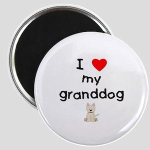 I love my granddog (westie) Magnet