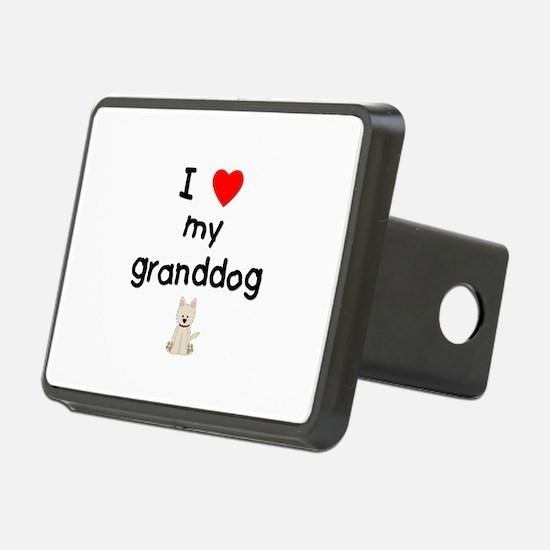 I love my granddog (westie) Hitch Cover