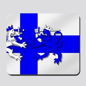 Finland Lion Flag Mousepad
