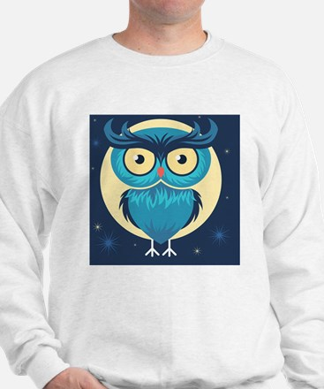 Cute Halloween Owl Sweatshirt
