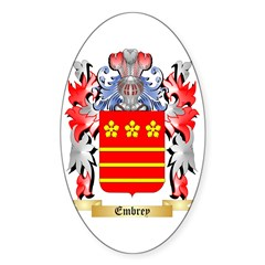 Embrey Sticker (Oval 10 pk)