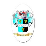 Emblem 20x12 Oval Wall Decal